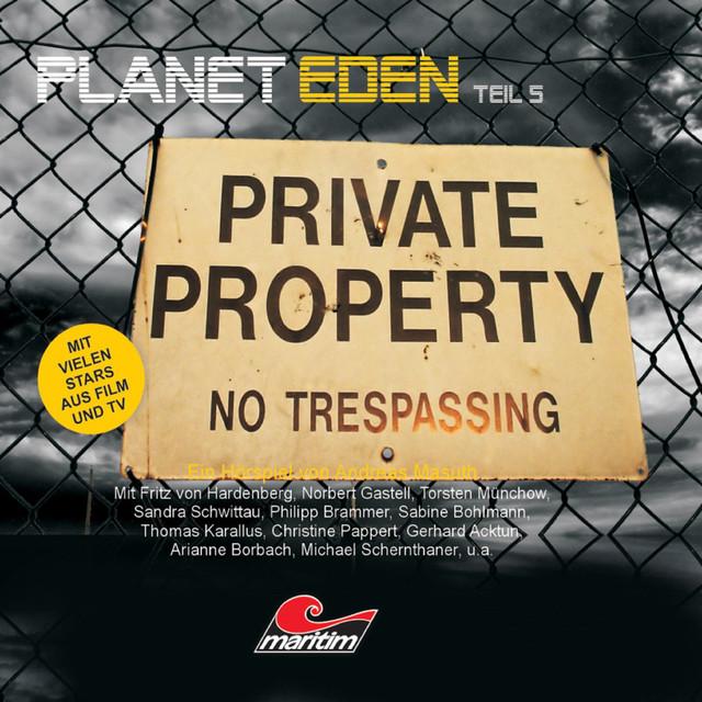 Planet Eden, Teil 5 Cover