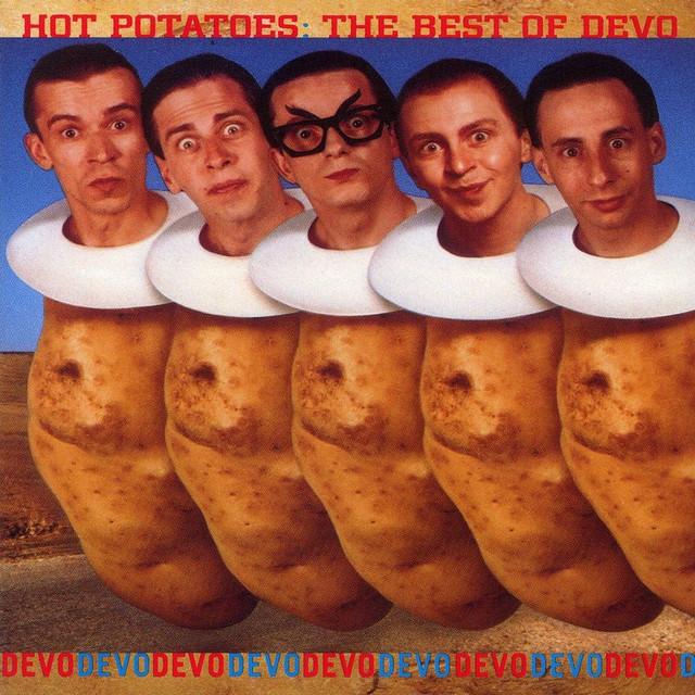 DEVO Hot Potatoes: The Best of Devo album cover