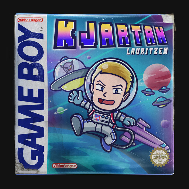 Album cover for GAME BOY by Kjartan Lauritzen