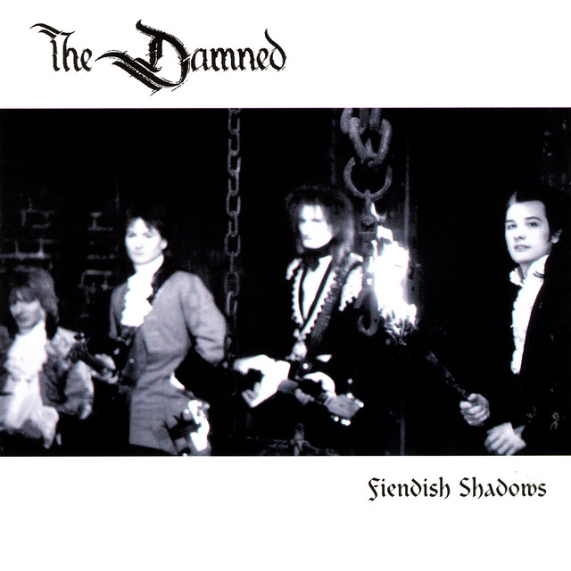The Damned Fiendish Shadows album cover