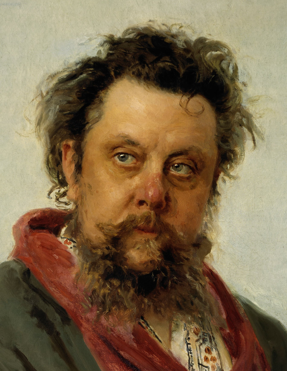 Composer M. P. Mussorgsky, The Old Castle