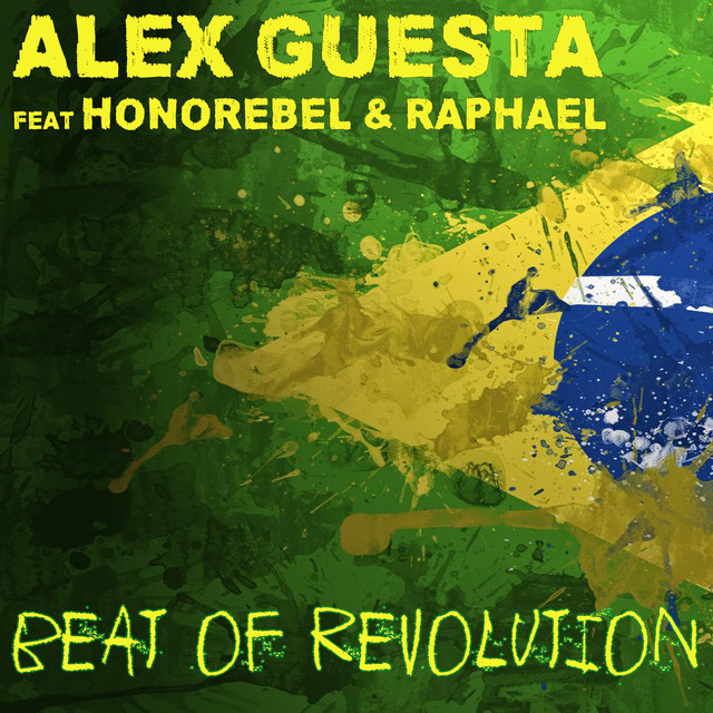 Album cover for Beat of Revolution (Essa Nega Sem Sandália) by Alex Guesta