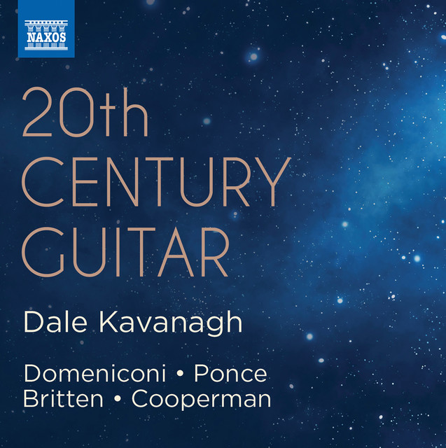 Album cover for 20th Century Guitar by Dale Kavanagh