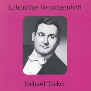 Lebendige Vergangenheit - Richard Tucker Albümü