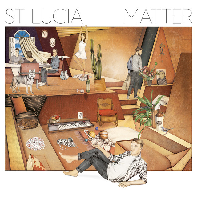 Album cover for Matter by St. Lucia