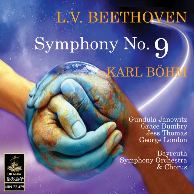Beethoven: Symphony No. 9 Albumcover