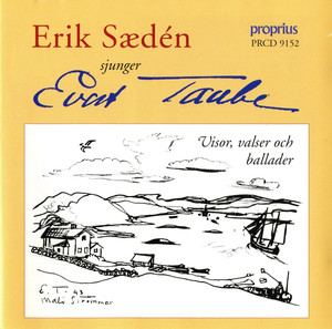 Erik Saeden sjugner Evert Taube