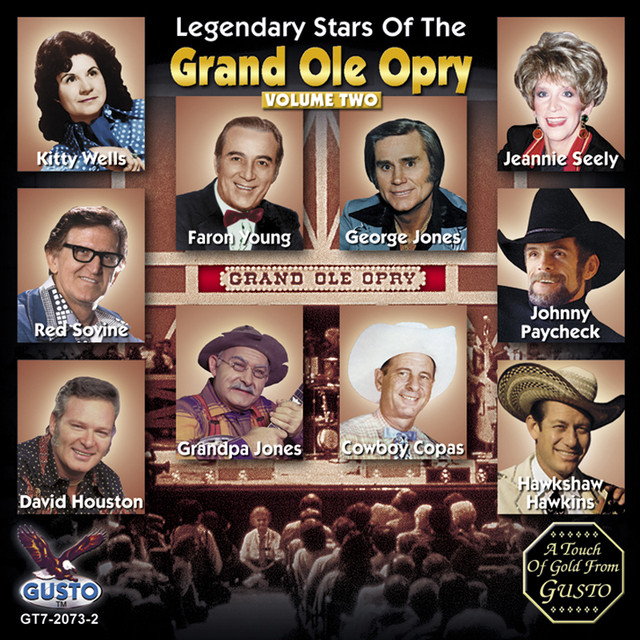 Various Artists Legendary Stars Of The Grand Ole Opry Vol. 2 album cover