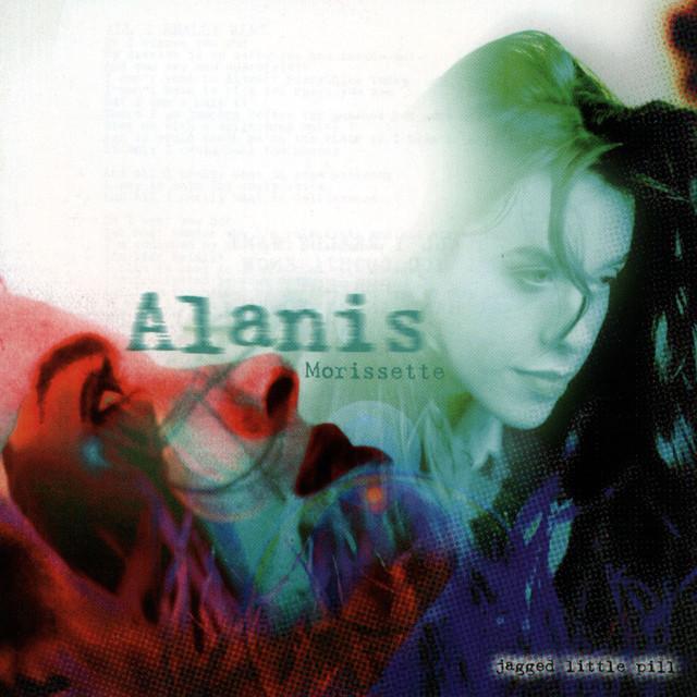 Skivomslag för Alanis Morissette: Jagged Little Pill
