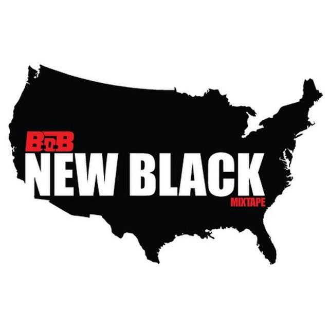 B.o.B New Black album cover