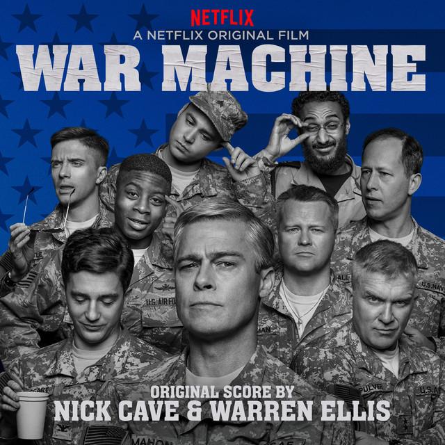 Nick Cave, Warren Ellis War Machine (A Netflix Original Film) album cover