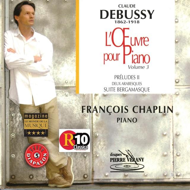 Debussy : L'oeuvre pour piano, vol.3 Albumcover