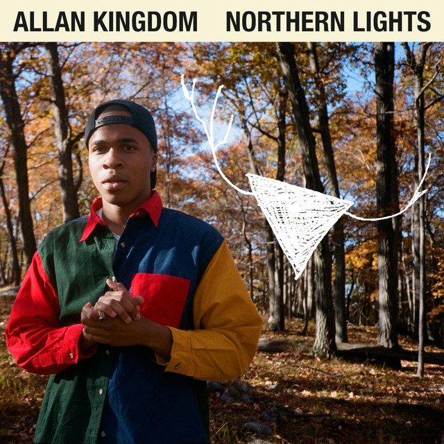 Album cover for Northern Lights by Allan Kingdom