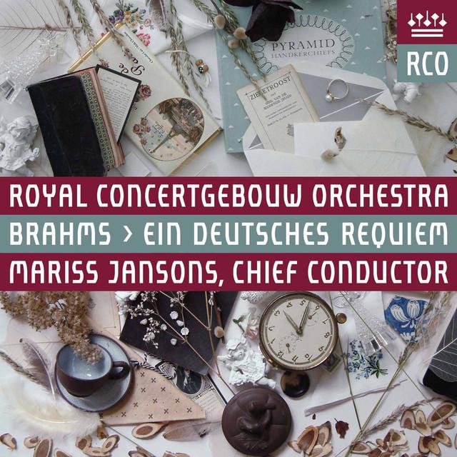 Brahms: Ein deutsches Requiem, Op. 45 (Live) Albumcover
