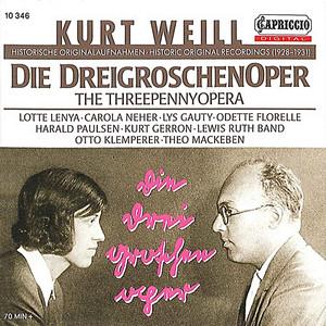 Weill: Die Dreigroschenoper (1928-1931) Audiobook