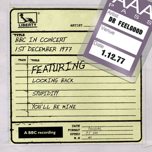 Dr Feelgood - BBC In Concert (1st December 1977) album