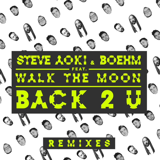 Album cover for Back 2 U (Remixes) by Steve Aoki, Boehm