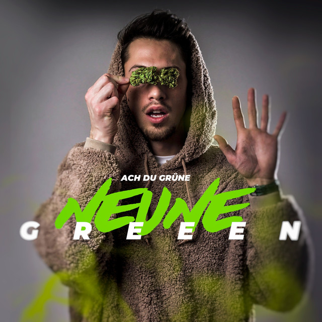 Album cover for Ach du grüne Neune by Greeen