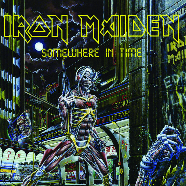 Wasted Years Iron Maiden