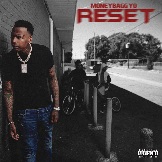 Album cover for RESET by Moneybagg Yo