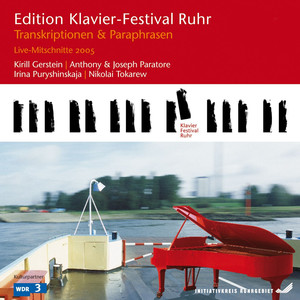 Transcriptions & Paraphrases: Live Recordings (Edition Ruhr Piano Festival, Vol. 9) Albumcover