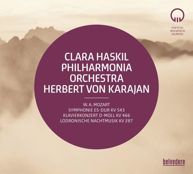 Mozart: Symphony No. 39, K. 543, Piano Concerto No. 20, K. 466 & Divertimento No. 15, K. 287