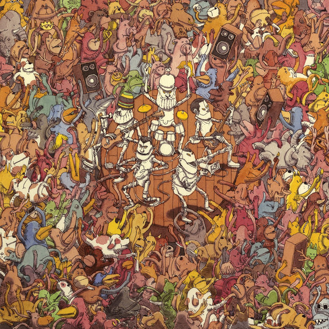 Album cover for Tree City Sessions by Dance Gavin Dance