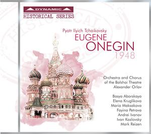 Tchaikovsky: Eugene Onegin Albumcover