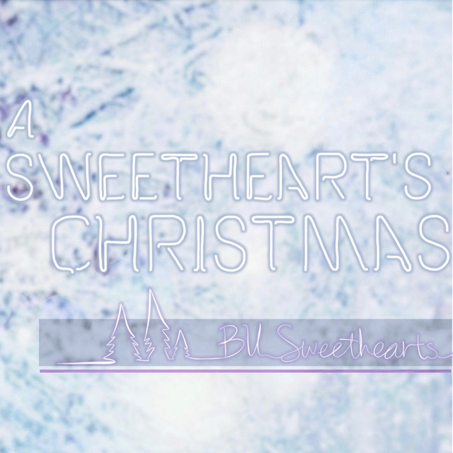 Album cover for A Sweetheart's Christmas by BU Sweethearts