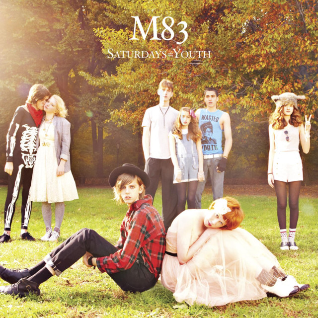 Album cover for Saturdays = Youth by M83