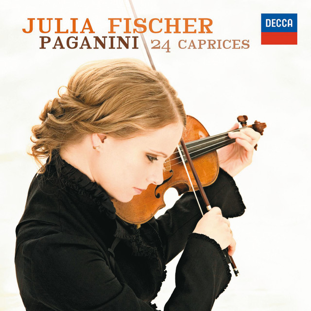 Paganini: 24 Caprices, Op.1 Albumcover