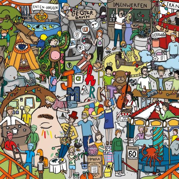Album cover for Jahrmarkt by Rhein und Rausch