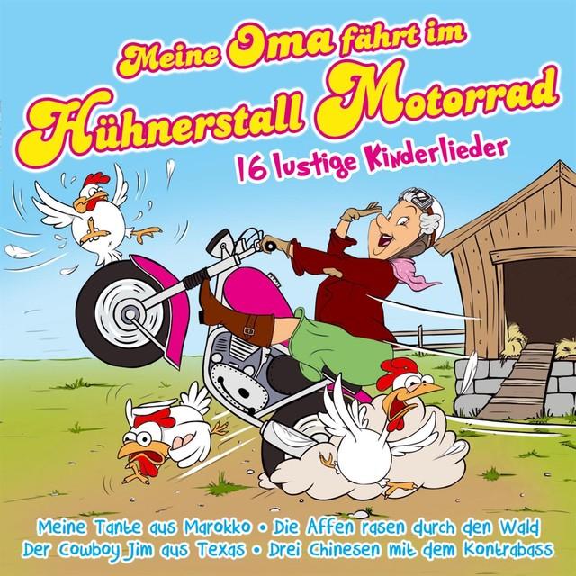 Hühnerstall Motorrad
