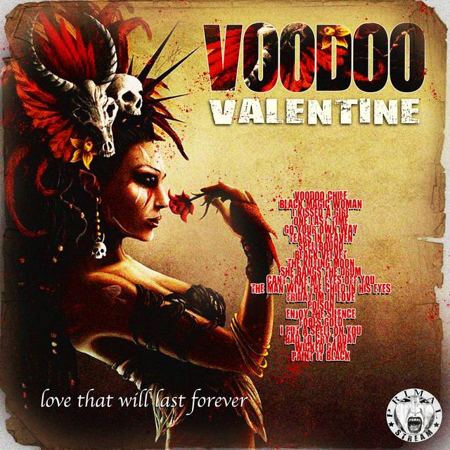 Various Artists Voodoo Valentine - Love That Will Last Forever album cover