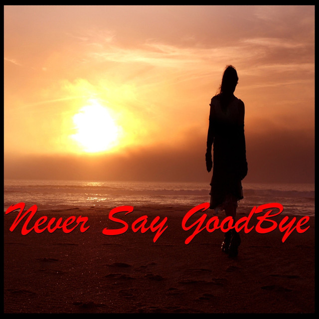 Connie Haines Never Say Goodbye album cover