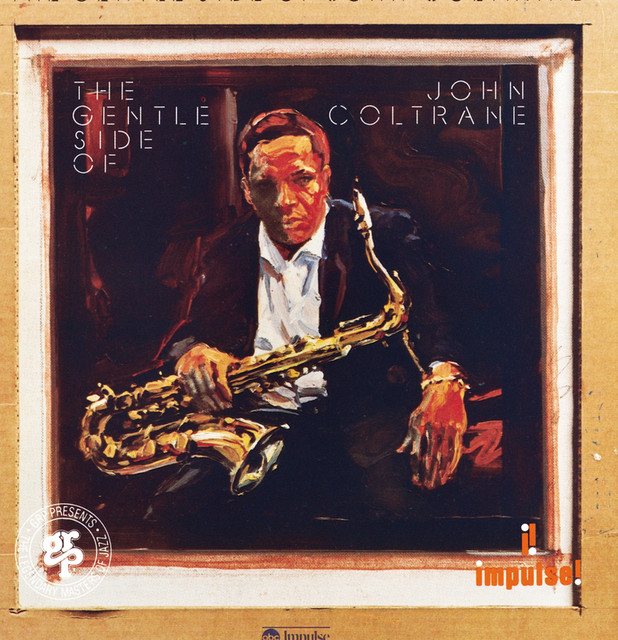 John Coltrane The Gentle Side of John Coltrane album cover