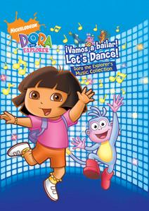 !Vamos a bailar! Let's Dance! The Dora the Explorer Music Collection Albumcover