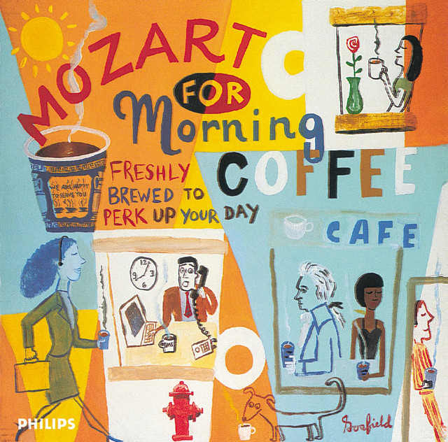 Coffee Book Album: Mozart For Morning Coffee By Wolfgang Amadeus Mozart On