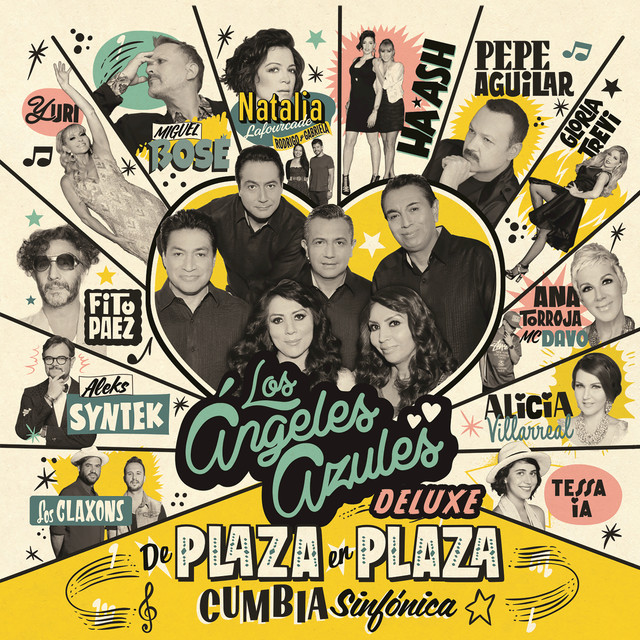 Album cover for De Plaza En Plaza (Cumbia Sinfónica/Deluxe) by Los Angeles Azules