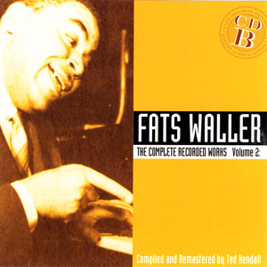 Fats Waller I'm Crazy 'Bout My Baby cover
