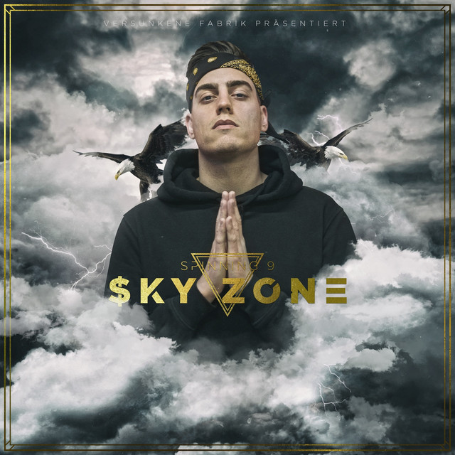 Album cover for Sky Zone by Spinning 9