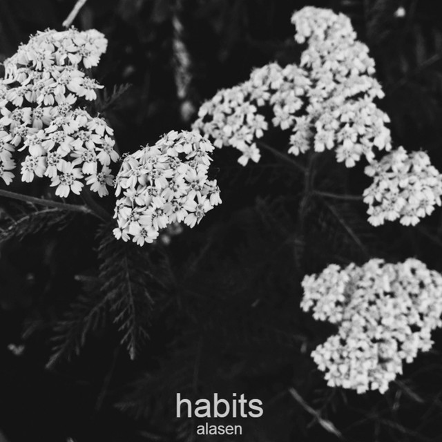 Album cover for Habits by Alasen