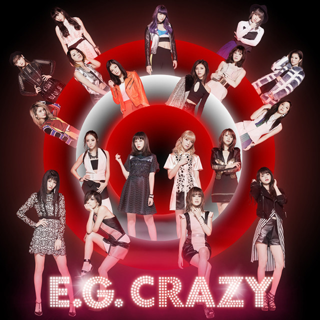 Album cover for E.G. CRAZY by E-girls
