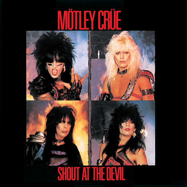Mötley Crüe Shout at the Devil album cover