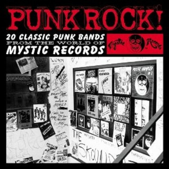 Punk Rock! 20 Classic Punk Bands from Mystic Land with Bonus Tracks Albumcover