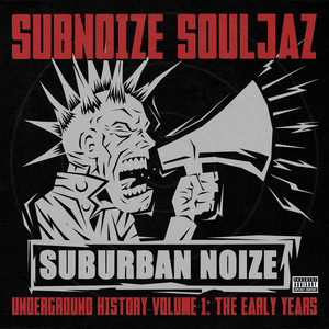 Suburban Noize Records Underground History V1 The Early Years Albumcover