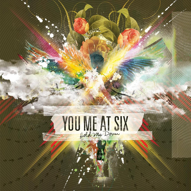 You Me at Six Hold Me Down album cover