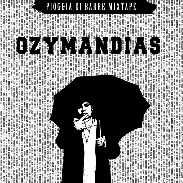 Album cover for Pioggia di barre MIXTAPE by Ozymandias