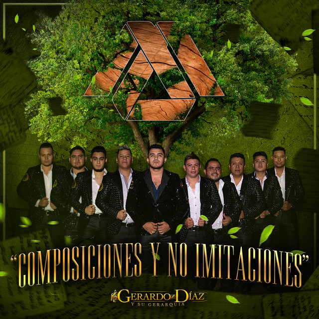 Album cover for Composiciones y No Imitaciones by GERARDO DIAZ Y SU GERARQUIA