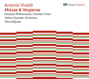 Vivaldi: Kyrie - Gloria in D major - Credo - Magnificat in G minor Albumcover